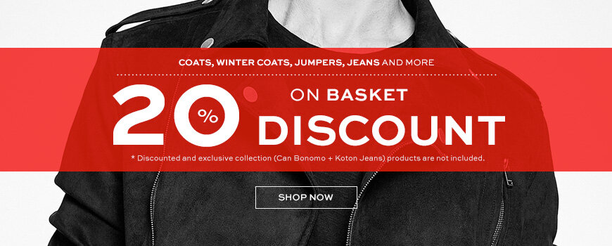 %20 Discount on Basket!